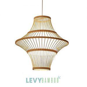 Đèn mây tre chiếu sáng phòng ăn – DMT259 – Bamboo Lighting