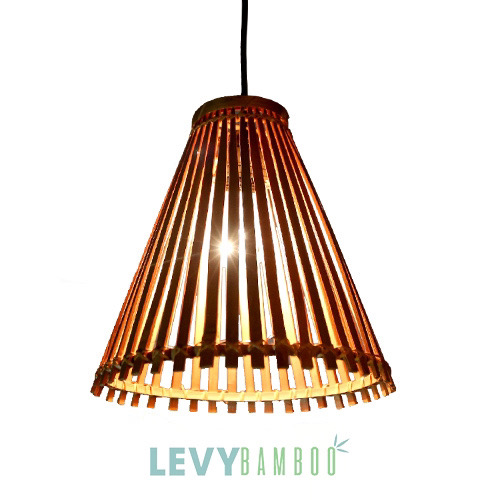 Đèn mây tre đan kiểu – DMT243 – Bamboo Lighting