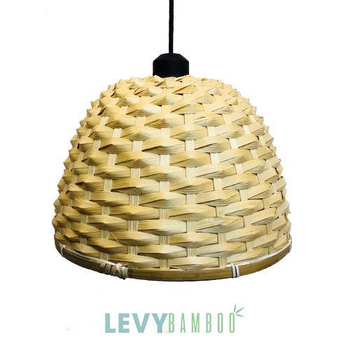 Đèn mây tre đan nghệ thuật thả trần – DMT254 – Bamboo Lighting