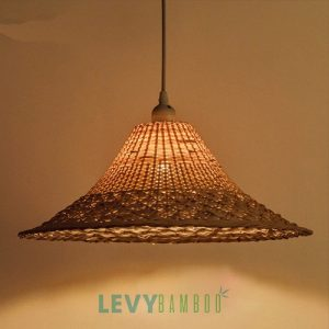 Đèn mây tre đan thủ công nghệ thuật – DMT225 – Bamboo Lighting