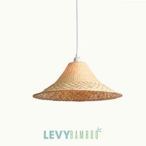 Đèn mây tre đan thủ công nghệ thuật – DMT225 – Bamboo Lighting1