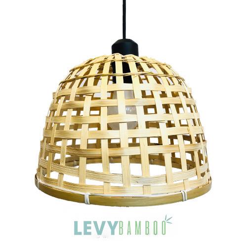Đèn mây tre hình rọ úp gà - DMT207 – Bamboo Lighting