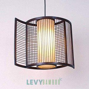 Đèn mây tre thả trần - DMT206 – Bamboo Lighting