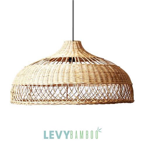Đèn mây tre trang trí bàn ăn gia đình – DMT015 – Bamboo & Rattan Lighting