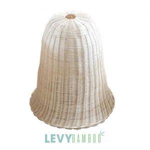 Đèn nan tre đan hình cái chuông - DMT006 - Bamboo & Rattan Lighting