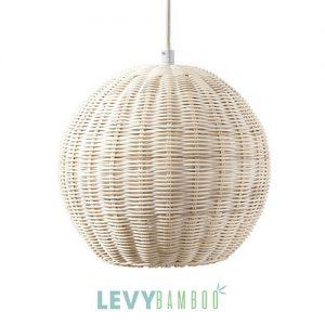 Đèn nan tre thả trần kiểu truyền thống – DMT019 – Bamboo & Rattan Lighting