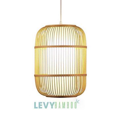 Đèn nan tre thả trần trang trí nhà hàng – DMT280 – Bamboo Lighting