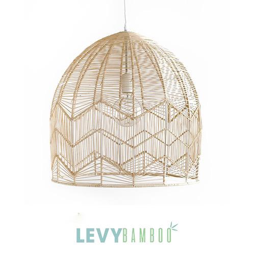 Đèn nan tre thiết kế kiểu hiện đại – DMT012 – Bamboo & Rattan Lighting