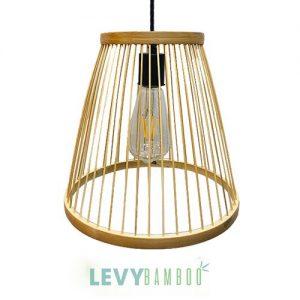 Đèn nan tre trang trí phòng khách – DMT279 – Bamboo Lighting