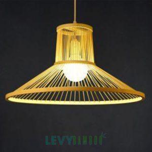 Đèn tăm tre trang trí nhà hàng – DMT219 – Bamboo Lighting1