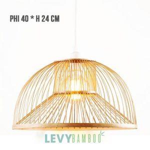Đèn tăm tre trang trí nhà hàng – DMT257 – Bamboo Lighting