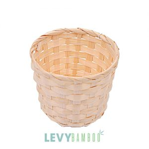 Giỏ tre đựng chậu hoa cảnh nhỏ - GK002 - Basket bamboo