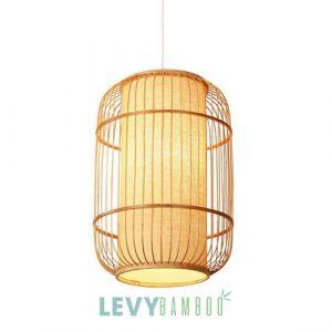 Xưởng mây tre Lê Vy Bamboo chuyên làm đèn mây tre đan xuất khẩu