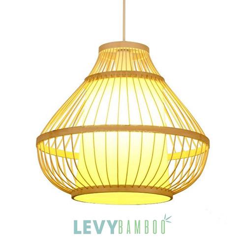 Gia công đèn tăm tre số lượng lớn - DMT293 - Bamboo Lighting