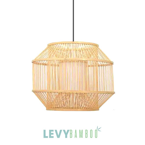 Nhận làm mẫu đèn tăm tre trang trí nhà hàng - DMT292 - Bamboo Lighting