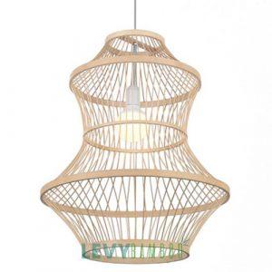 Đèn tăm tre loại lớn trang trí sảnh lớn, không gian rộng - DMT314 - Bamboo Lighting