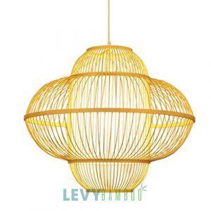 Đèn tăm tre trang trí bàn ăn - DMT319 - Bamboo Lighting